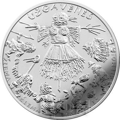 2. Литва 2019 год 1.5 евро - Масленица (реверс).jpg
