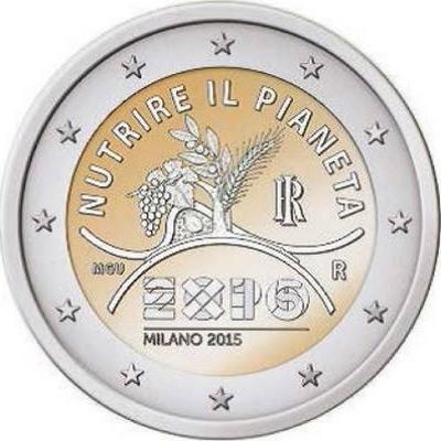 2015, 2 евро, Италия, памятная монета - «Expo 2015 в Милане».jpg