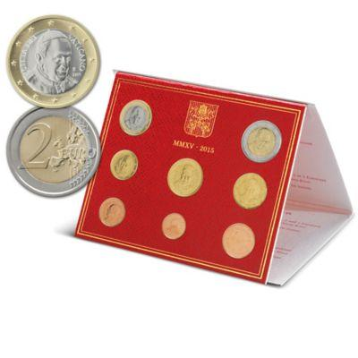 1 2015 VATICAN POPE FRANCIS EURO COIN SET..jpg