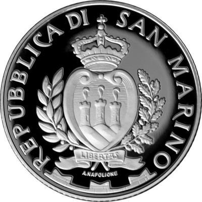 2015 золотая монета Сан-Марино (аверс).jpg