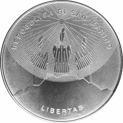 2015, 5 евро Сан-Марино, памятная монета «Год света» (аверс).jpg
