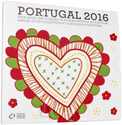 2016 Годовой набор евро Португалии.jpg