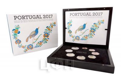 2017 Годовой набор евро Португалии..jpg