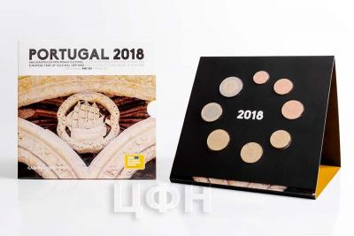 2018 Годовой набор евро Португалии..jpg