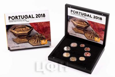 2018 Годовой набор евро Португалии.jpg