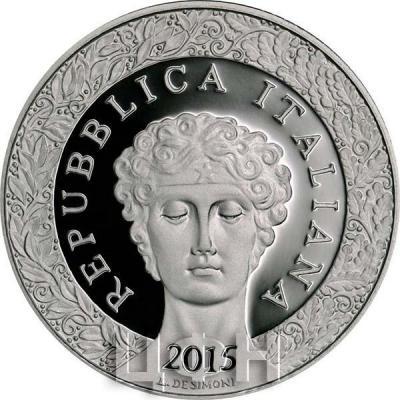 2015, 10 евро Италия, памятная монета - «100-летие с начала Первой мировой войны» (аверс).jpg