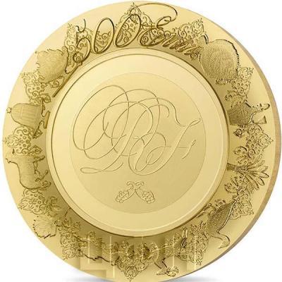 2015, памятные монеты Франции - «Севрская фарфоровая мануфактура», эксклюзивная серия (реверс).jpg