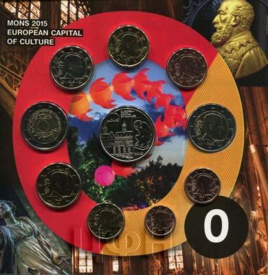 2015 BU (10 монет) «Монс — Культурная столица Европы».jpg