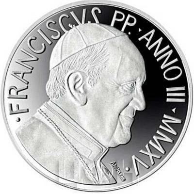 2015, 5 евро Ватикан, памятная монета - «48-й Всемирный день мира» (реверс).jpg