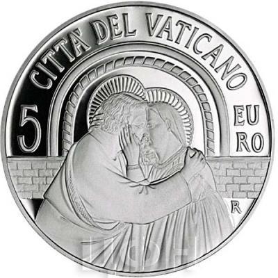 2015, 5 евро Ватикан, памятная монета - «XIV Генеральная Ассамблея Синода»(аверс).jpg