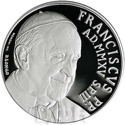 2015, 5 евро Ватикан, памятная монета - «XIV Генеральная Ассамблея Синода»(реверс).jpg