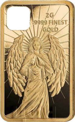 Соломоновы острова 10 долларов 2018 год «Ангел-хранитель» (реверс).jpg