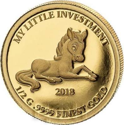 Соломоновы острова 10 долларов 2018 год «Пони» (реверс).jpg
