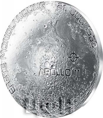 Австрия 20 евро 2019 год «Первая высадка на луну» (реверс).jpg