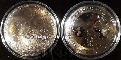 2019 год , Австрия 20 евро «Первая высадка на луну».jpg