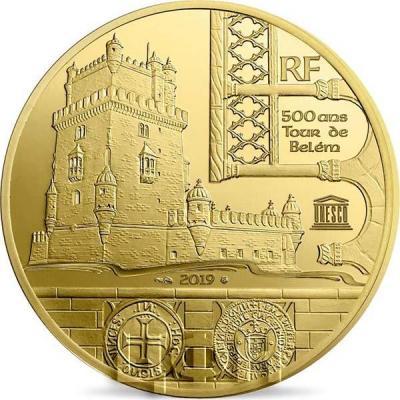 2019, 200 евро Франции - «Башня Торре-де-Белени Васко де Гама», программа «ЮНЕСКО» (реверс).jpg