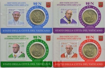 STAMP & COIN CARD EURO N° 22 23 24 25 - 2019 (аверс).jpg