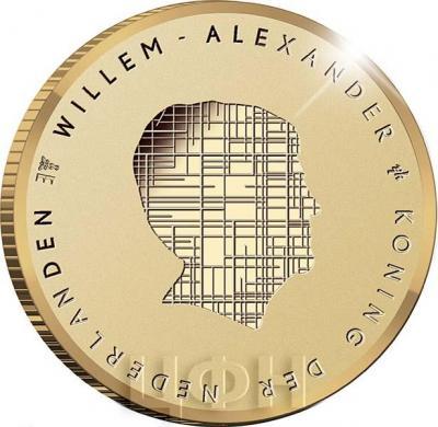 2019, 10 евро Нидерланды, памятная монета - «Польдер Бемстер» (аверс).jpg
