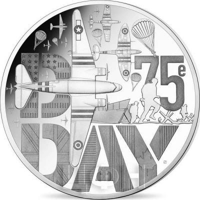 2019, Франция «75 лет День-Д» (реверс).jpg