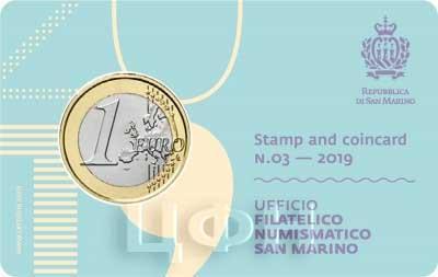 2019 год Сан Марино набор «Годовой набор» (аверс).jpg