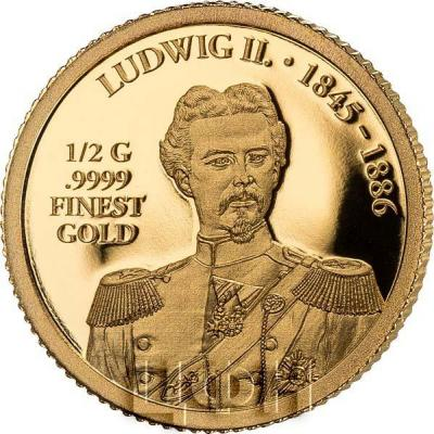 2018, Соломоновы Острова 10 долларов «LUDWIG II» (реверс).jpg
