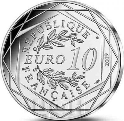 2019, Франция 10 евро (аверс).jpg