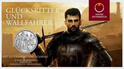 Австрия 10 евро 2019 год «Годофредо де Буйон» (реверс).jpg