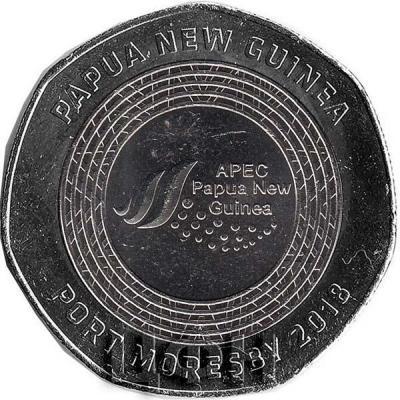 2018 Папуа 100 динаров «Спутник» (реверс).jpg