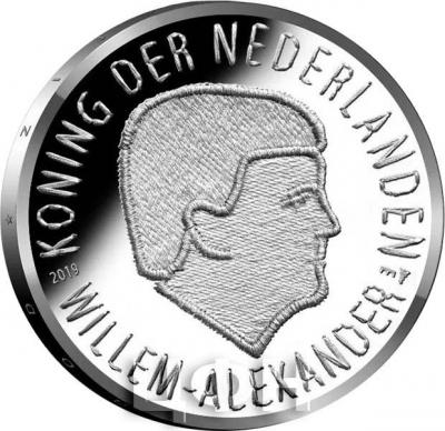 2019, Нидерланды 5 евро «Голландская операция 1944» (реверс).jpg