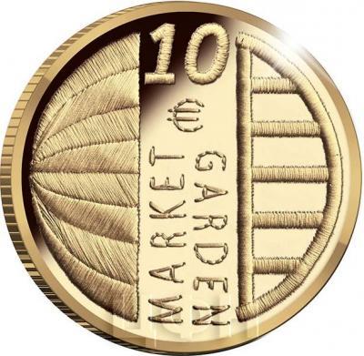 2019, Нидерланды 10 евро «Голландская операция 1944» (аверс).jpg