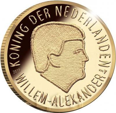 2019, Нидерланды 10 евро «Голландская операция 1944» (реверс).jpg