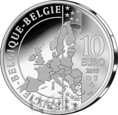 2019, Бельгия 10 евро (аверс).jpg