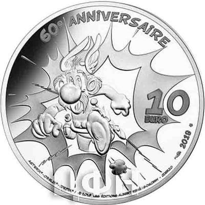 Франция 10 евро 2019 «Астерикс» (реверс).jpg