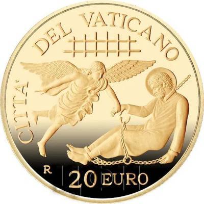 Ватикан 20€ 2019  «Деяния апостолов О первых миссиях» (аверс).jpg
