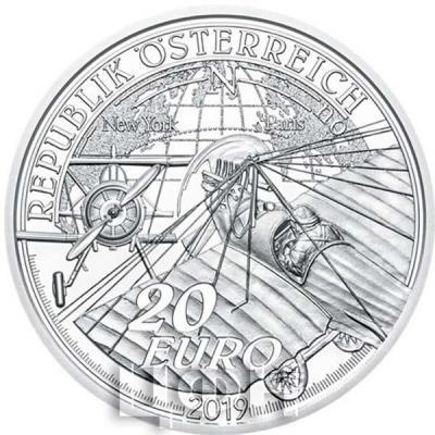 Австрия 20 евро 2019 год «Навстречу небу» (аверс).jpg