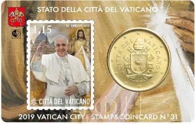 «50 ° anniversario dell'ordinazione sacerdotale di Papa Francesco» (аверс).jpg