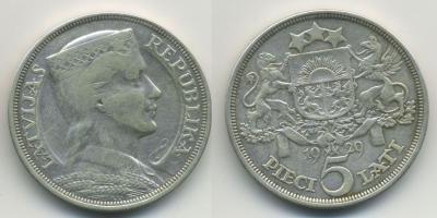 Латвия-5лат-1929.jpg