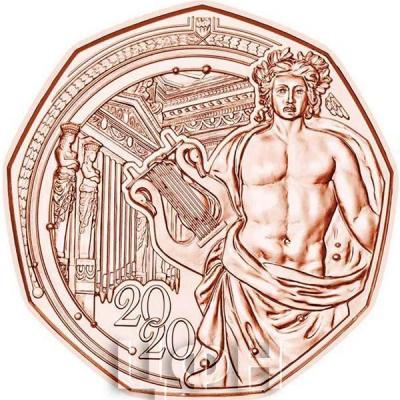 Австрия 5 евро 2020 год «Новогодняя монета» (реверс).jpg