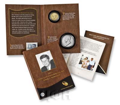 «2015 P Presidential Coin & Chronicles Set - John F. Kennedy (AX3) Reverse Proof» Набор США 2015 года  (реверс).jpg