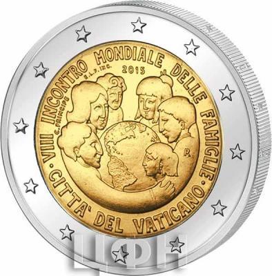 2 евро, Ватикан (VIII Всемирная встреча семей в Филадельфии) (реверс).jpg