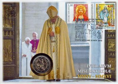 2 евро, Ватикан (Юбилейный год милосердия)(реверс).jpg