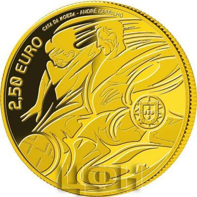 Португалия 2.5 евро 2020 год «Чемпионат Европы по футболу 2020» (реверс).jpg