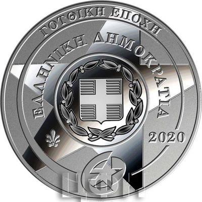 2020, 10 евро Греция, памятная монета - «Готика», программа «Europa Star» (аверс).jpg