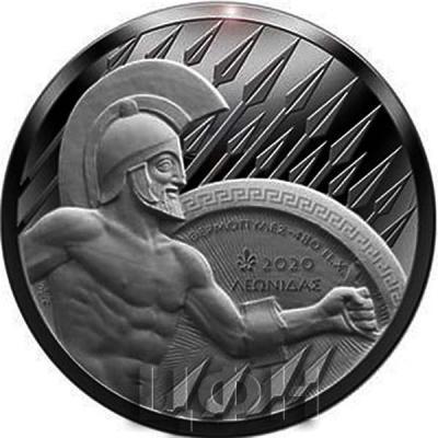 2020, 10 евро Греция, памятная монета - «2500 лет битвы при Фермопилах» (реверс).jpg