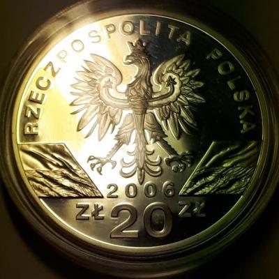 20 злотых 2006 год Полша пруф..jpg