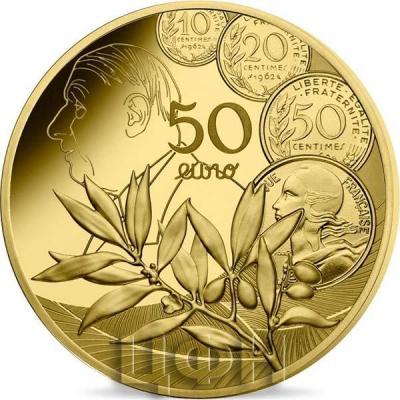 «LE NOUVEAU FRANC - MONNAIE DE 0.25 OZ OR» (3).jpg