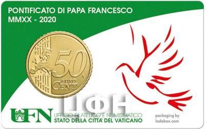 «N° 34(14-02-2020) STAMP & COINCARD 2020 2,40 PONT. (VERDE)» (2).jpg