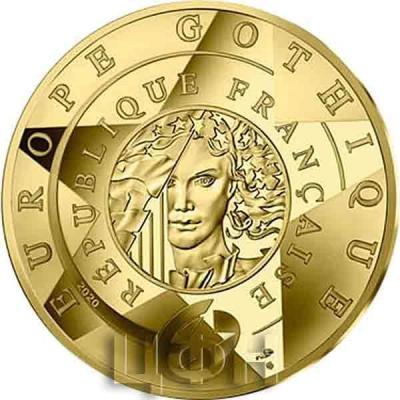 «5 euros Or 12 gramme BE – l'âge du Gothique, Notre-Dame de Paris» (1).jpg