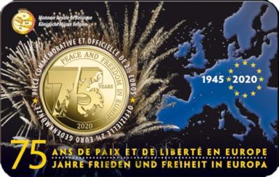 2020 год, 2 ½ евро Бельгия, памятная монета - «75 лет мира и свободы в Европе» (5).jpg