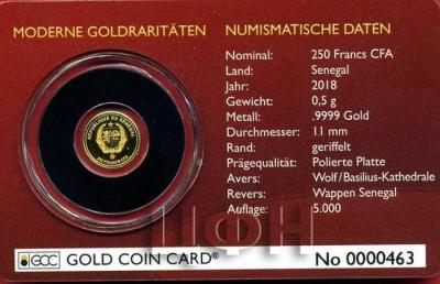 «1000 Francs CFA Minigoldmünze 2015 Gabun Krügerrand-Jubiläum 2015 PP in Kapsel Gold Coin Card» (2).jpg